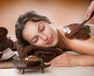 zabiegi czekoladą w gabinecie masażu w bielsku-białej