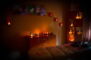 Pokój do masażu wykonywanego w Bielsku-Białej